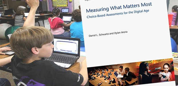 LIFE Lead Dan Schwartz and LIFE graduate Dylan Arena publish book on new types of assessments for the digital age of learning and teaching